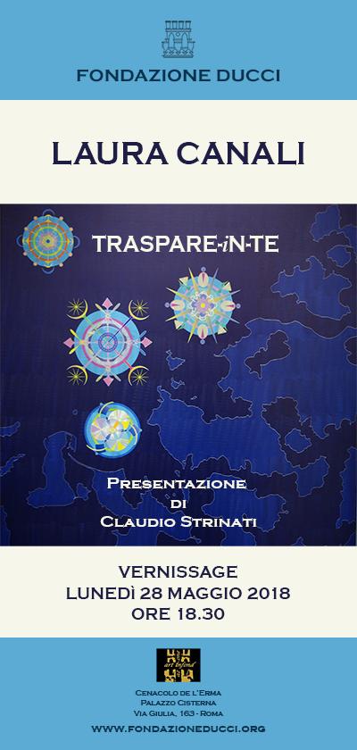 """Vernissage mostra """"Traspare-in-te"""" di Laura Canali"""